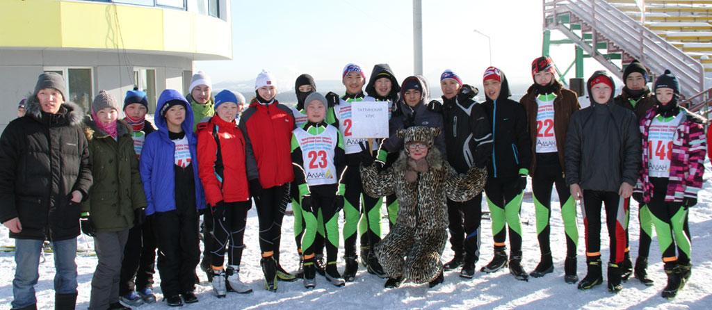 Сбор лыжной команды. г. Алдан